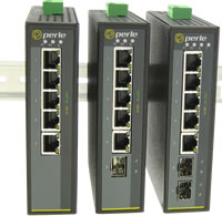 Switch Ethernet Gigabit industrial de 5 puertos